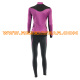 Winter bicycle clothing womens cycling long cycling set RSCSW-0019 back