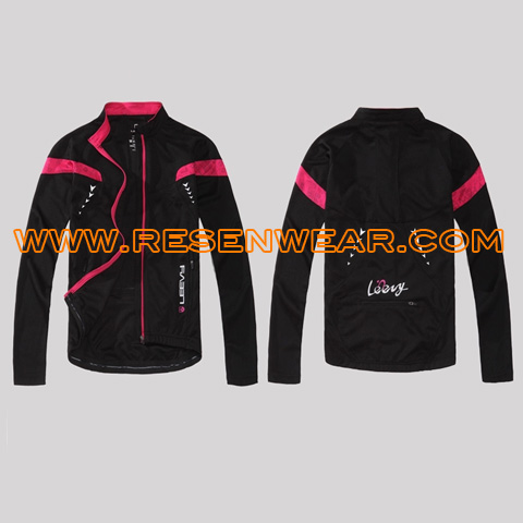 Womens cycling clothes riding tops breathable and comfortable RSCTW-0016 front&back