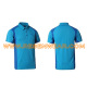 Mens polo shirts short sleeve Custom design pique embroider polo shirts RSPL-0034 blue